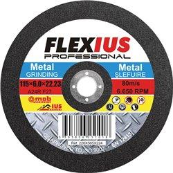 DISC ABRAZIV SLEFUIRE METAL SM 115X6,0X22,23 Mob&Ius DA115X6,0SM8